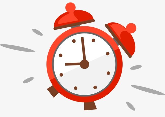 Cartoon Alarm Clock, Cartoon Clipart, Clock Clipart PNG.