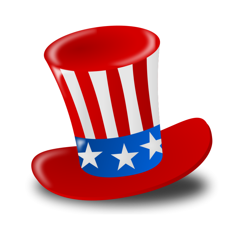 Free 4th of July Clipart.