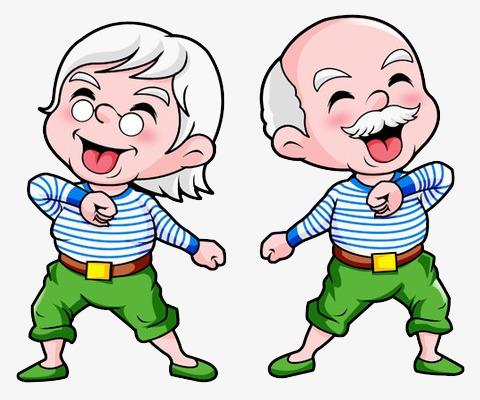 healthy people Healthy elderly health old people joy and psd.