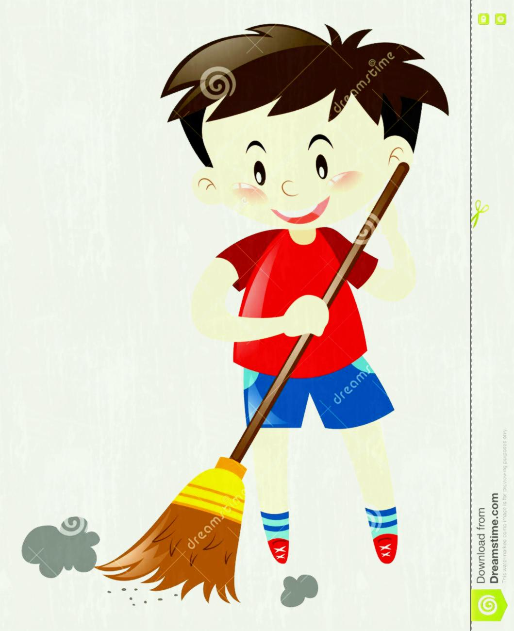 Sweeping floor clipart 4 » Clipart Station.