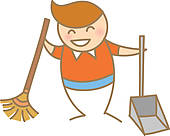 Sweep the floor clipart 4 » Clipart Station.