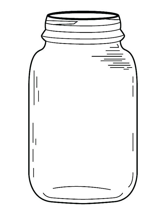 Mason Jar Drawing at GetDrawings.com.