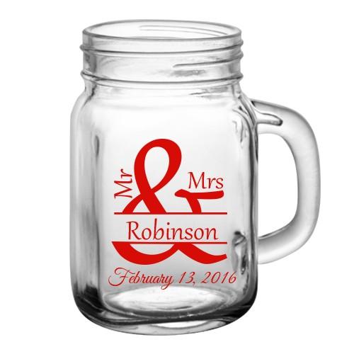 12oz BarConic® Mason Jar Mug.