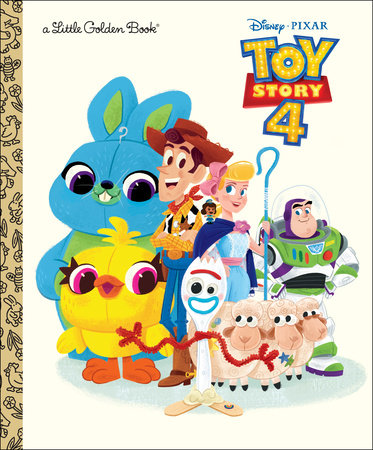 Toy Story 4 Little Golden Book (Disney/Pixar Toy Story 4) by Josh Crute:  9780736439787.