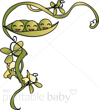 Three peas in a pod clipart 4 » Clipart Station.