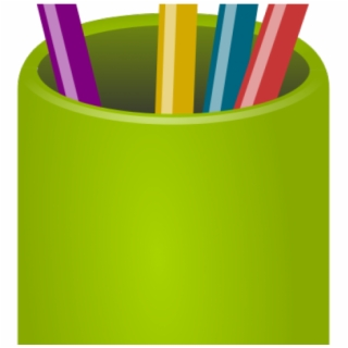 Pencil Cup PNG Images.