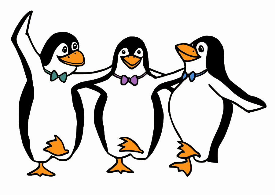 Penguin black and white penguin black and white clip art.
