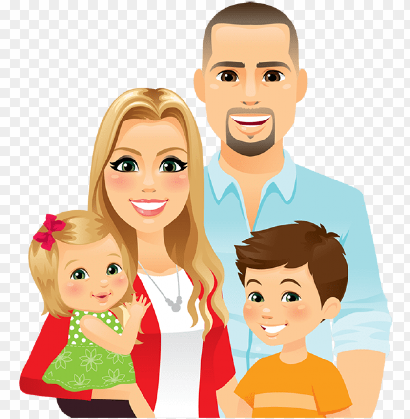 image gallery of family clipart 4 people 2 daughters.