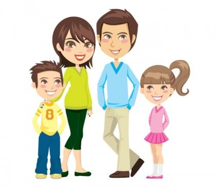Family Clipart 4 People Clipart Panda Free Clipart Images.