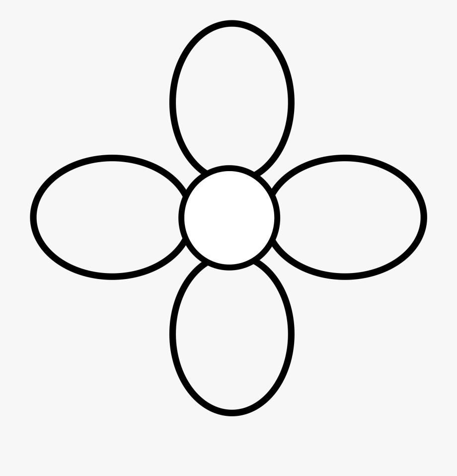 Simple Flower Clip Arts.