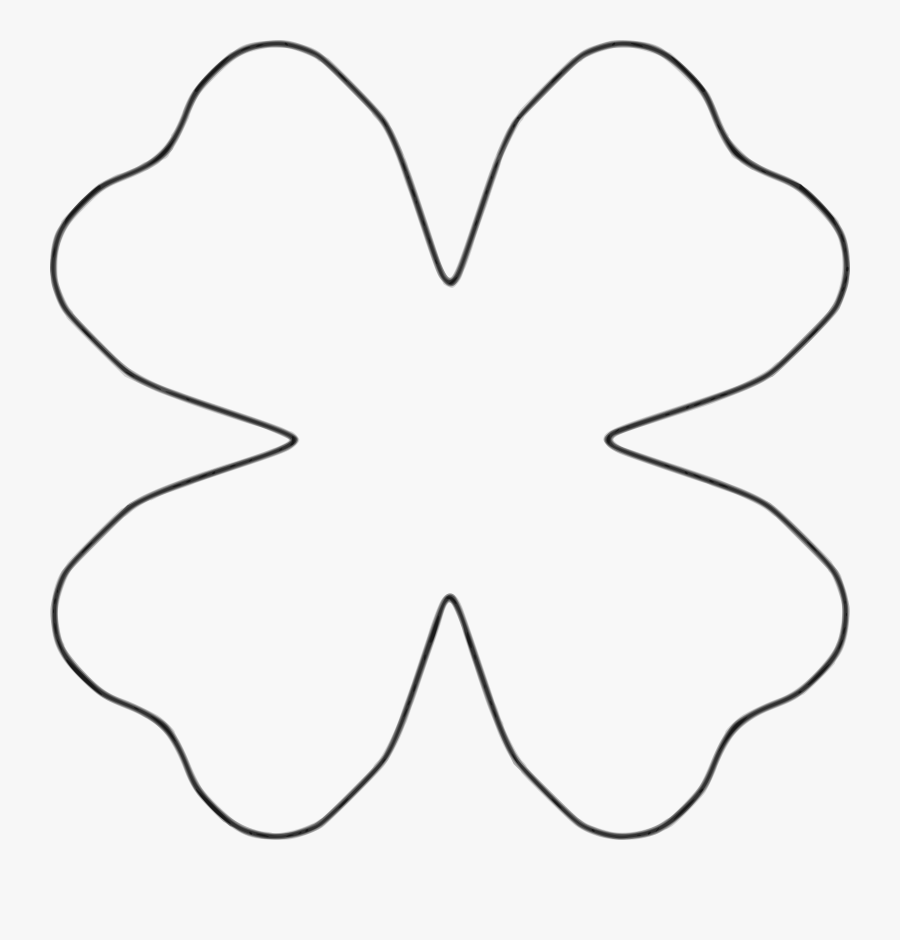Flower 4 Petal Heart Template Banner Royalty Free Library.