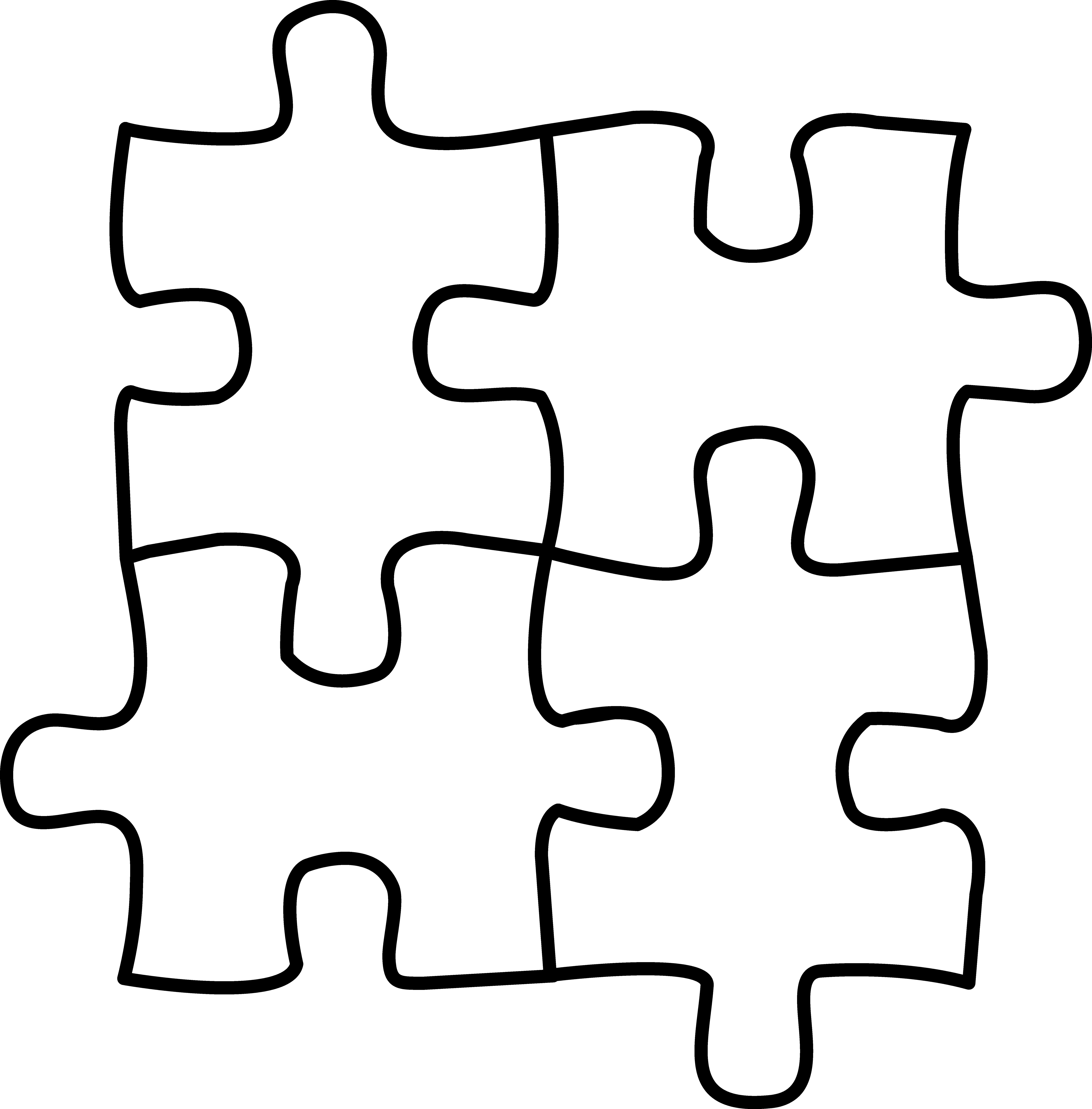 Puzzle Role Clipart
