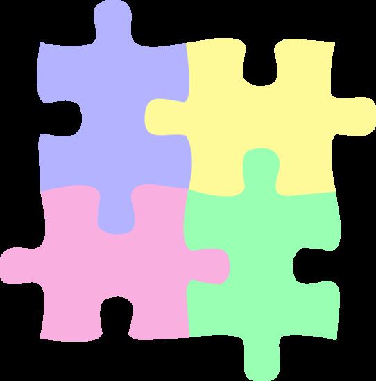 Autism Puzzle Piece Clip Art.