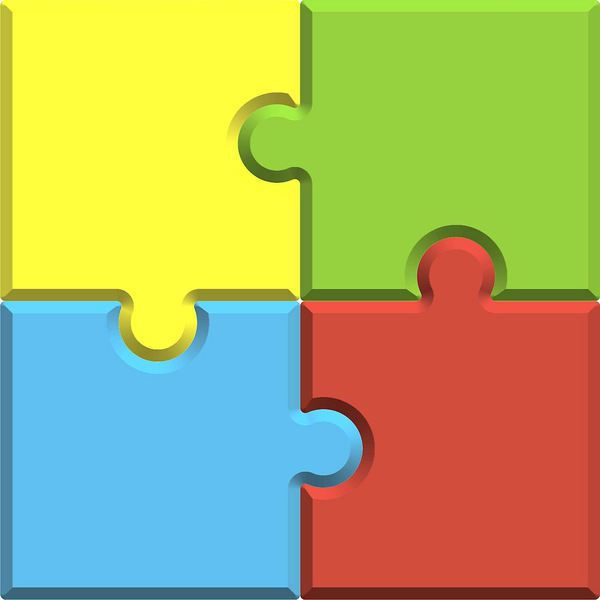 jigsaw puzzle blank template royalty free stock photo image.