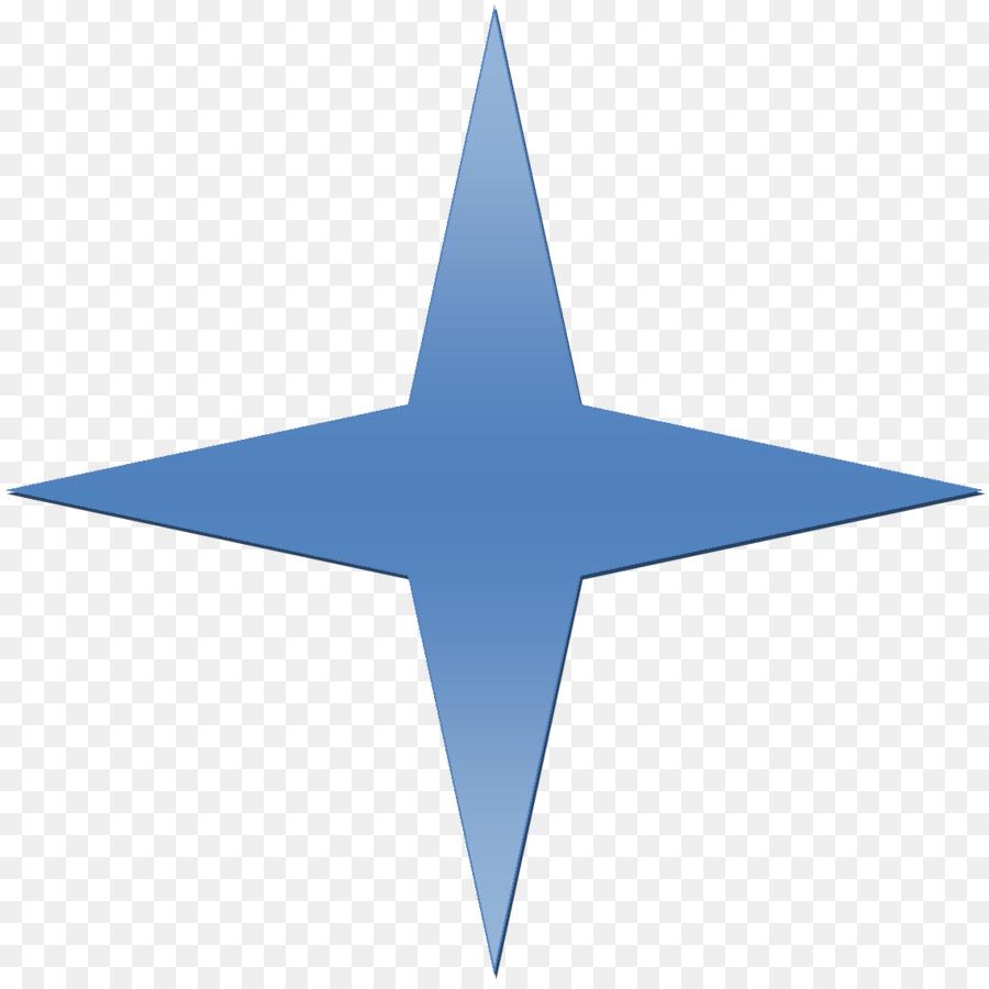 Blue Startransparent png image & clipart free download.
