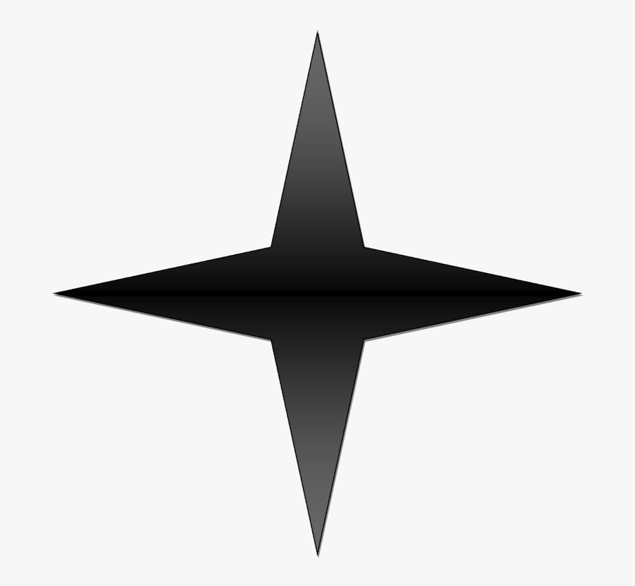 5 Point Star Vector.