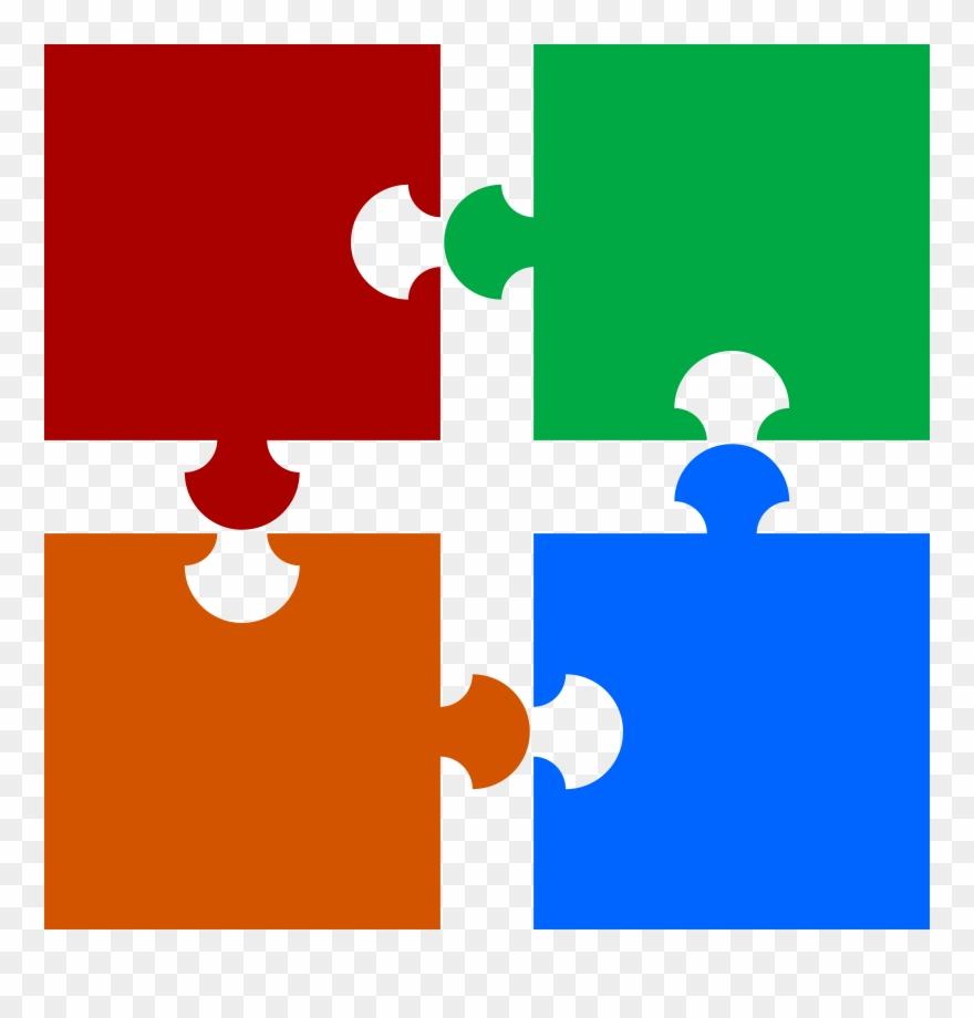 Vector Transparent Piece Clipart Four.