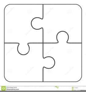 508 Puzzle Pieces free clipart.