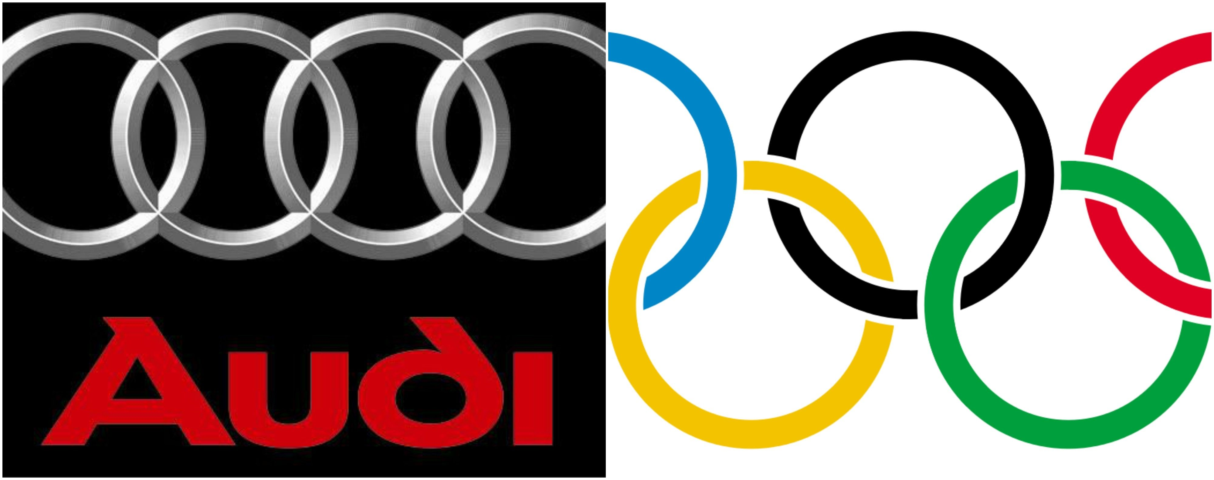 meaning of the rings in the audi logo.