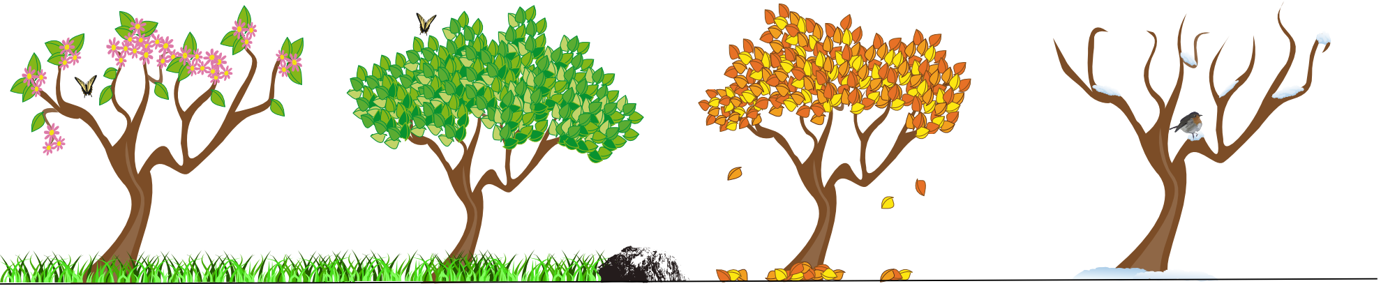 Seasons Clipart Images.