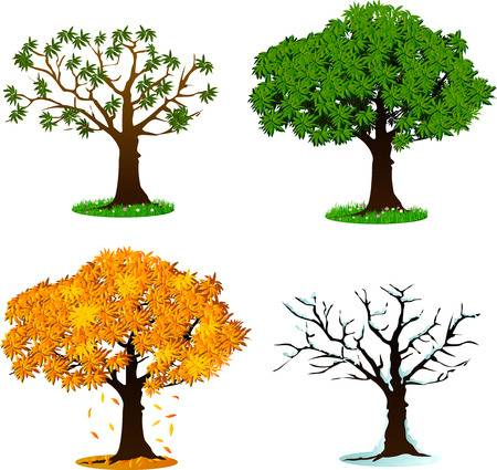 12,765 Four Seasons Cliparts, Stock Vector And Royalty Free Four.
