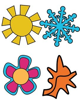 4 seasons clipart 4 » Clipart Portal.