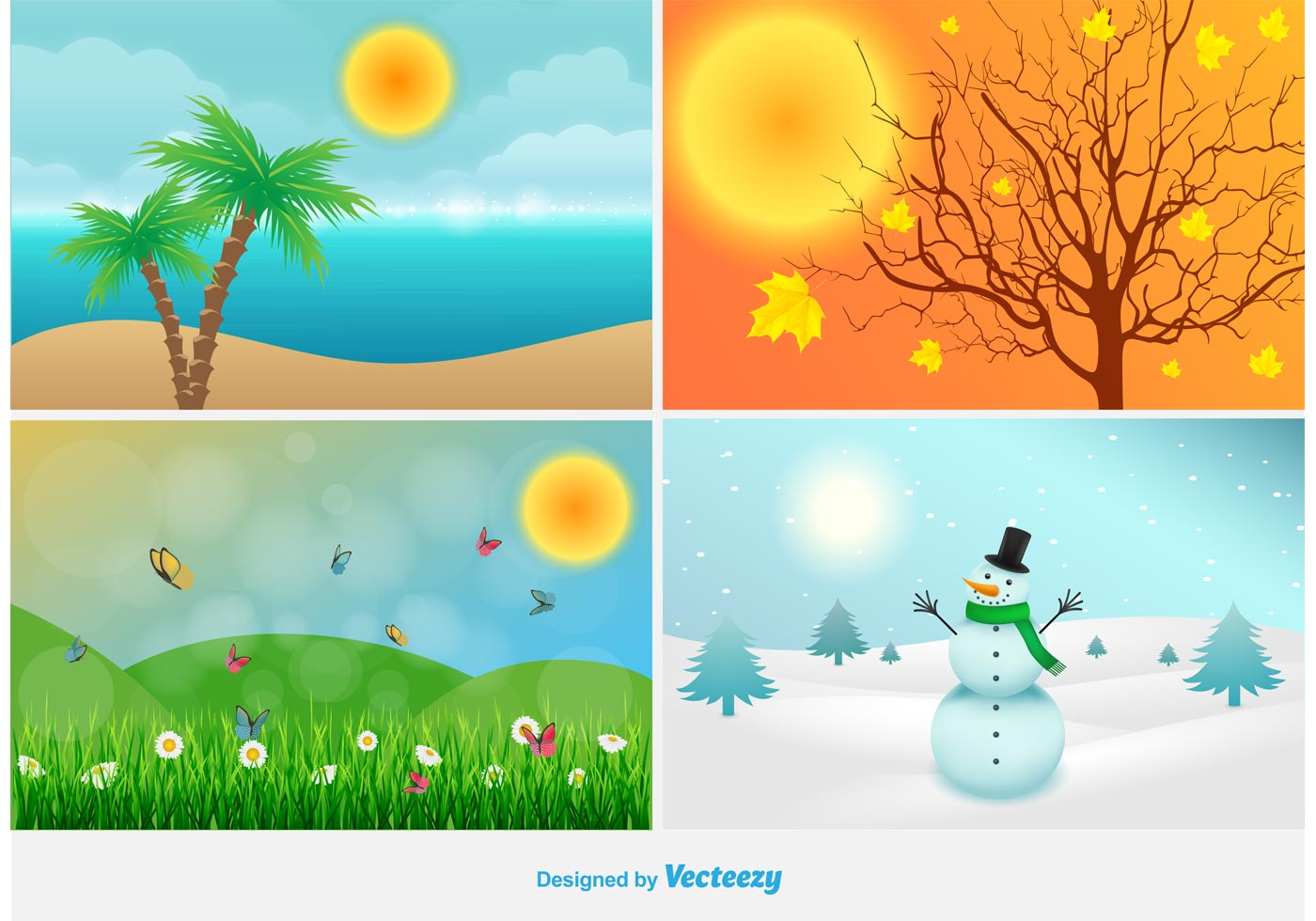 4 Seasons Clipart (101+ images in Collection) Page 1.