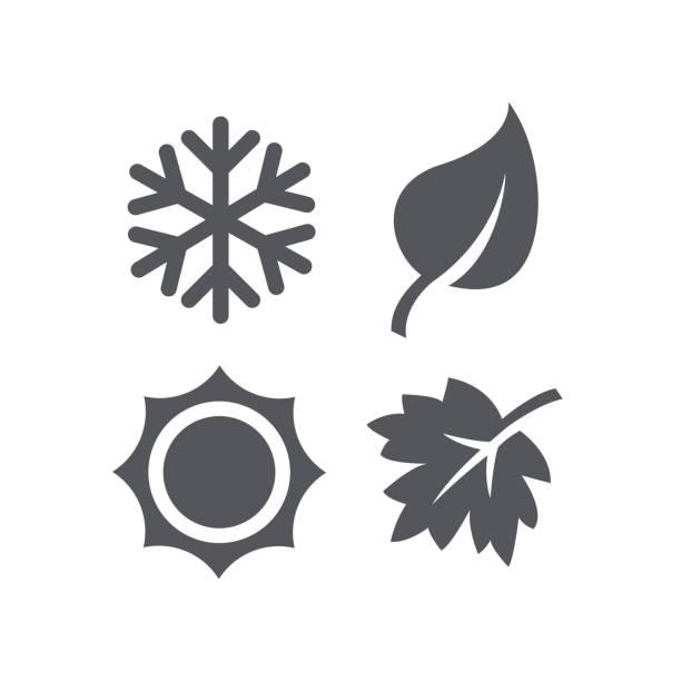 Best Four Seasons Illustrations, Royalty.