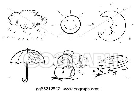 Seasons clipart black and white 1 » Clipart Station.