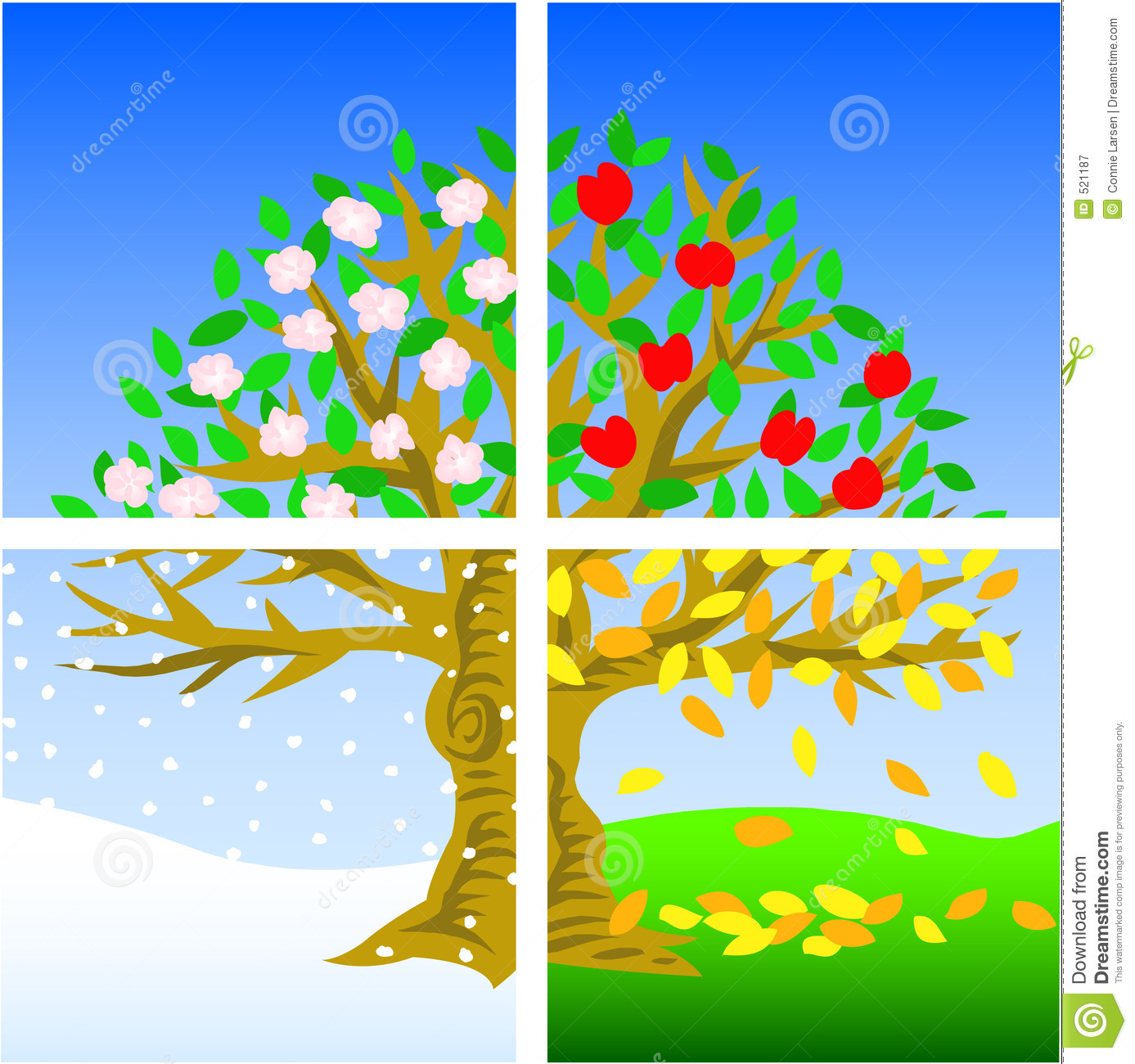 2270 Seasons free clipart.