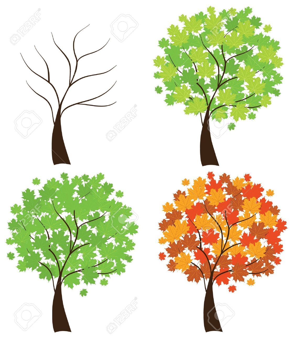 2267 Seasons free clipart.