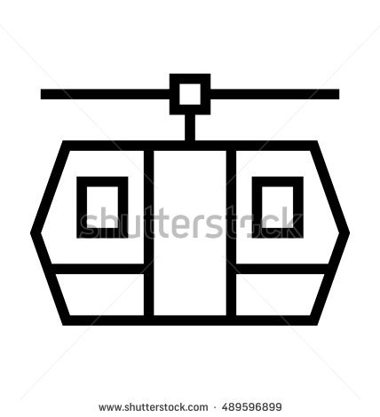 Chairlift Vector Stock Photos, Royalty.