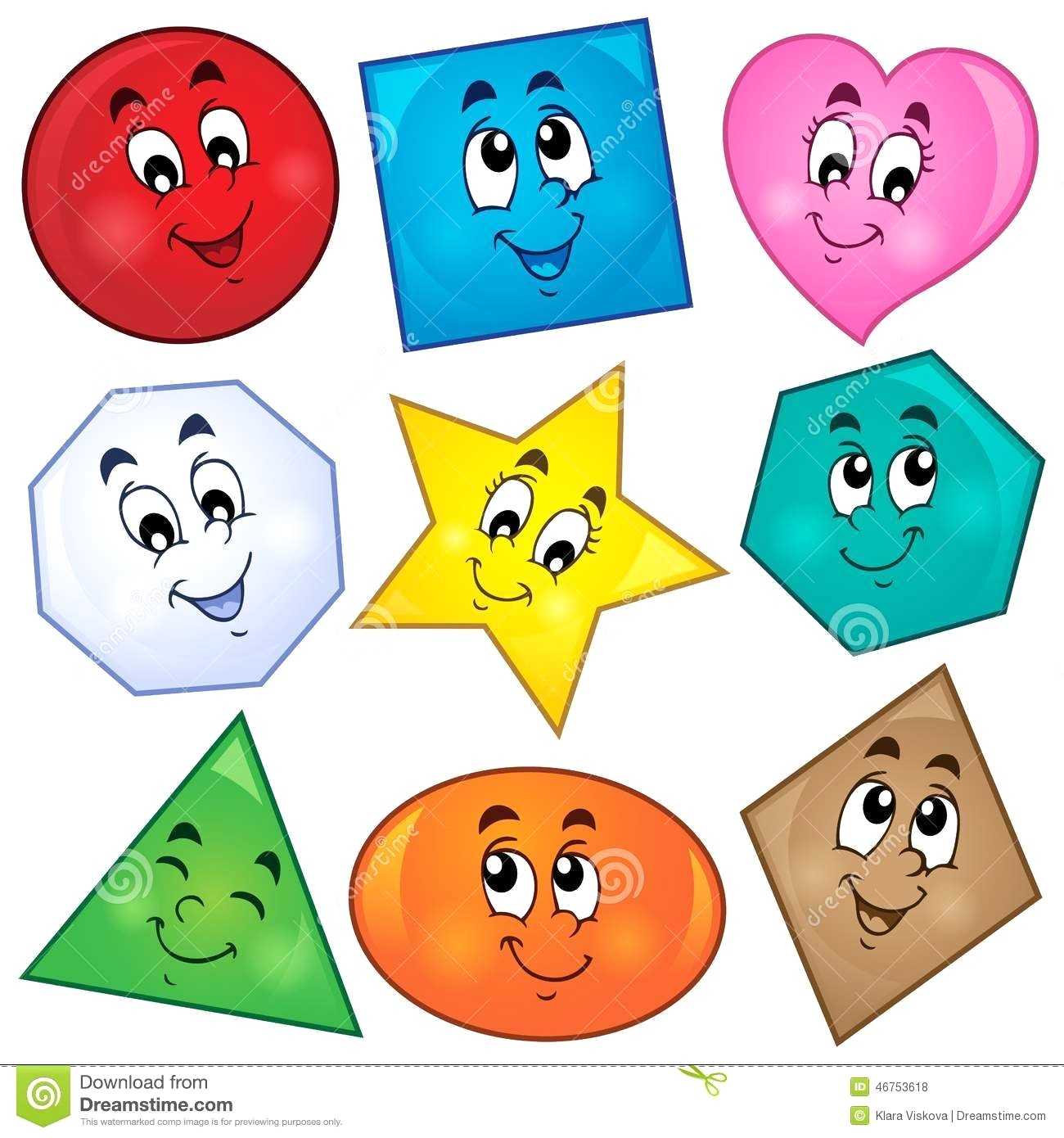 Clipart shapes 4 » Clipart Station.