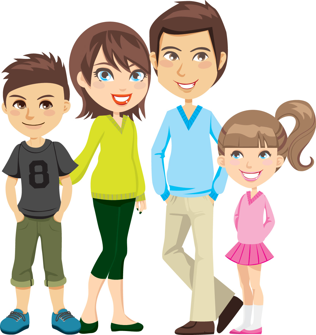 Free Cartoon Family Cliparts, Download Free Clip Art, Free.