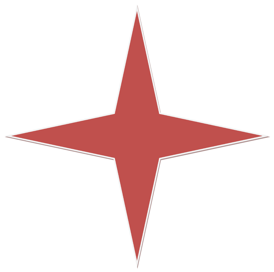 File:Red 4 Point Star.png.