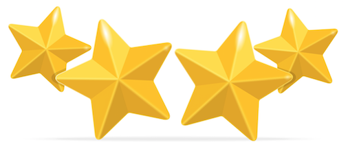 4 Star Png 5 Vector, Clipart, PSD.