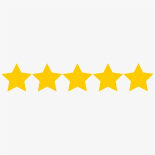 5 Star Rating.