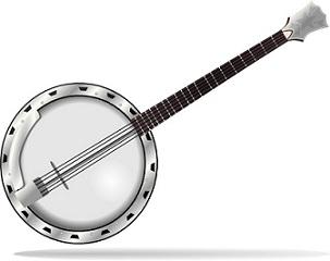 Free Banjo Clipart.