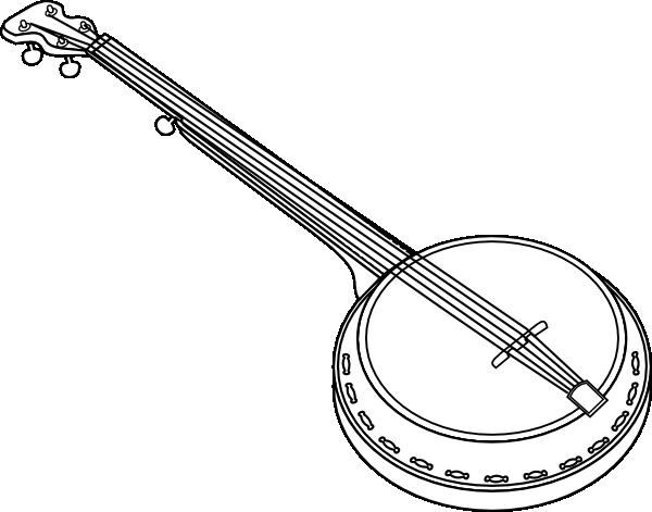 Banjo clip art Free Vector / 4Vector.