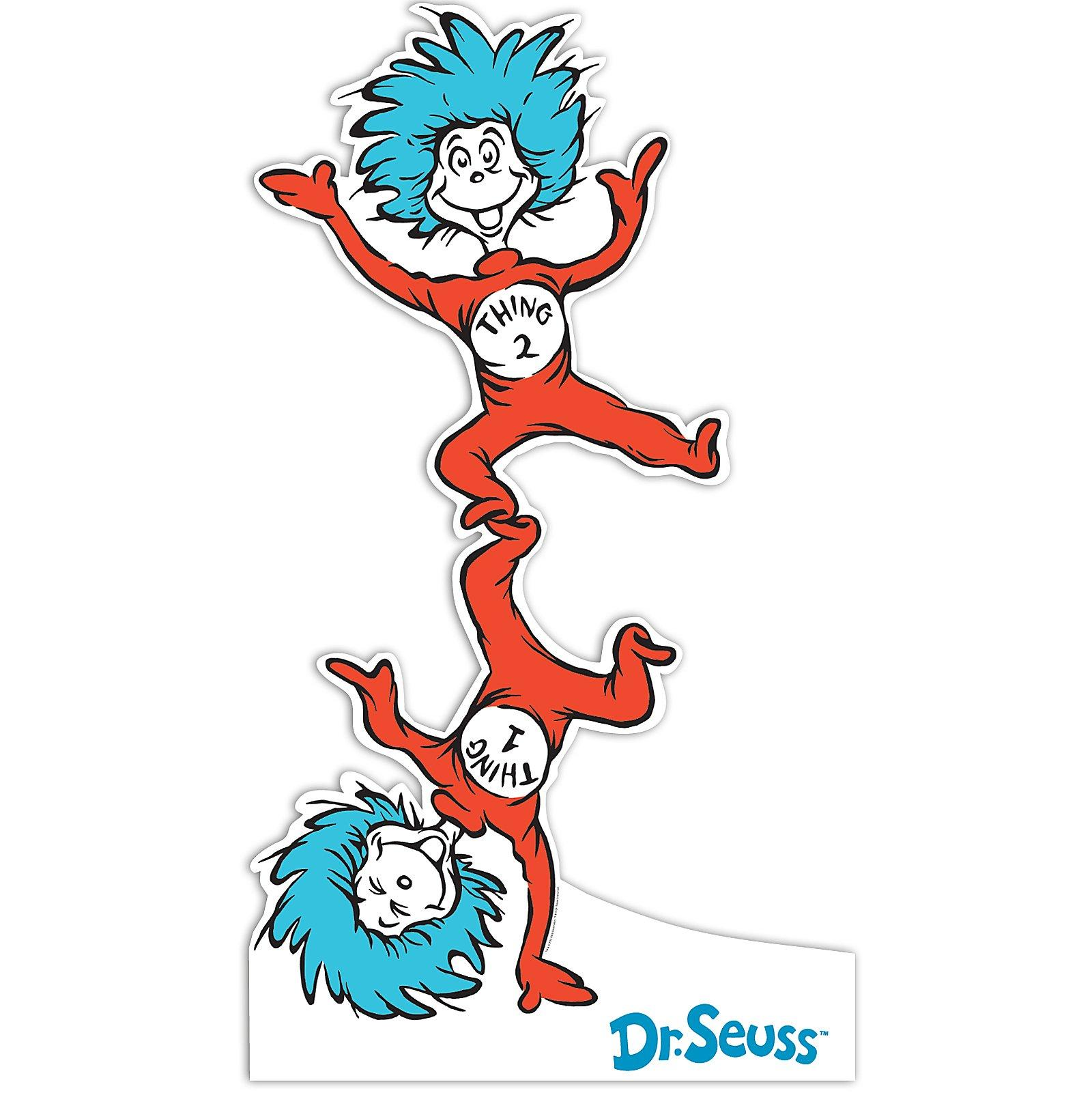 Images For Thing 1 And Thing 2 Printable Clip Art.