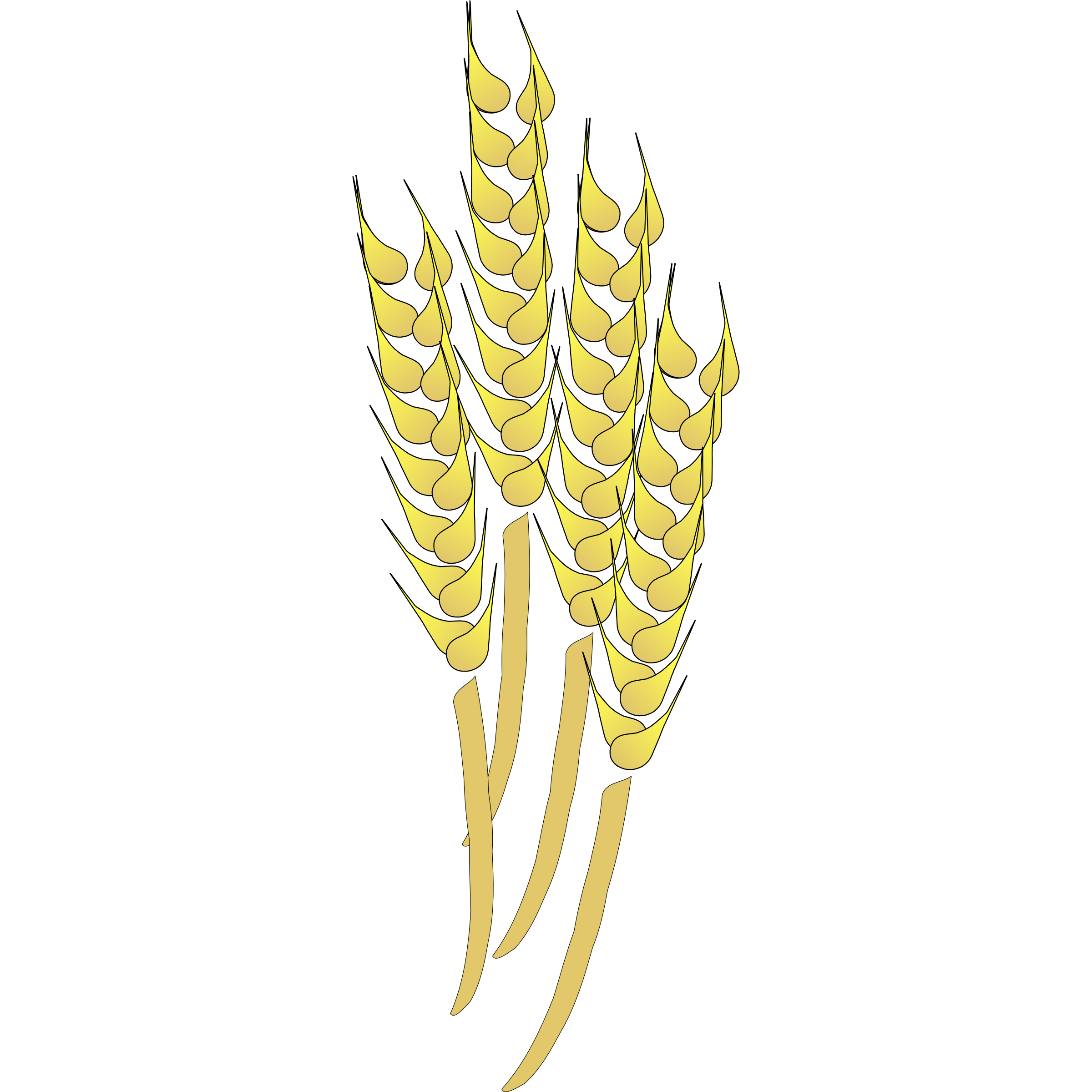 4 wheat clipart - Clipground