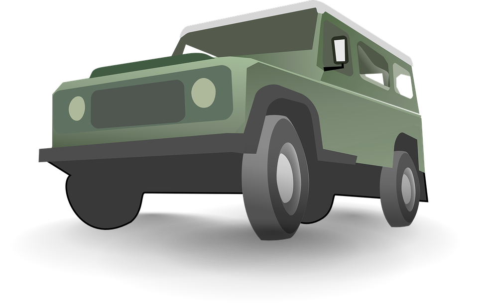 Free vector graphic: Jeep, Green, Automobile.