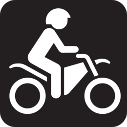Free download Scooter Car Motorcycle Trail Clip art.