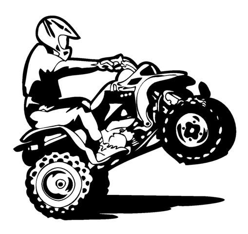 Cartoon 4 Wheeler Clip Art.