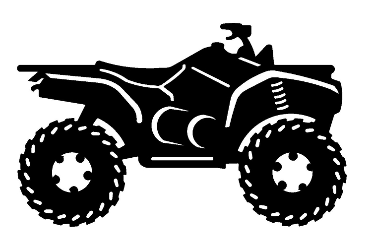 Scooter Car Motorcycle Trail Clip art.