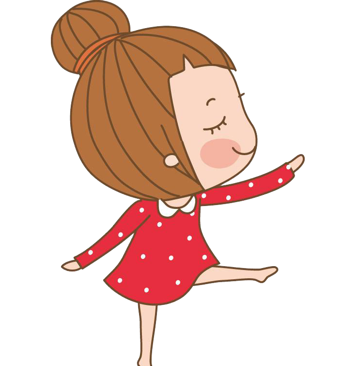 Dance Clip art Ballet Cartoon Girl.