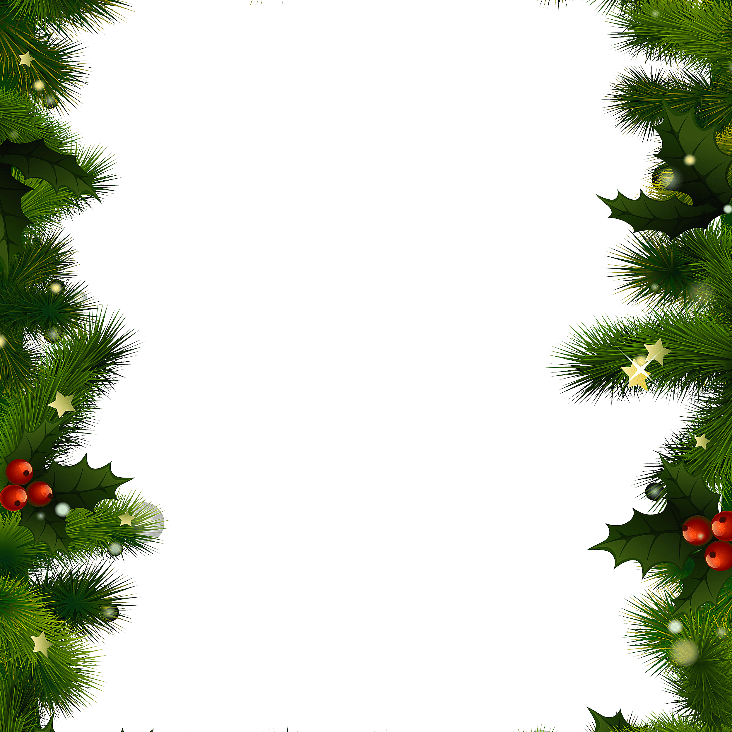 The Best Free Christmas Borders and Frames.