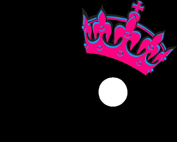 Pink Tilted Tiara And Number 40 Clip Art at Clker.com.