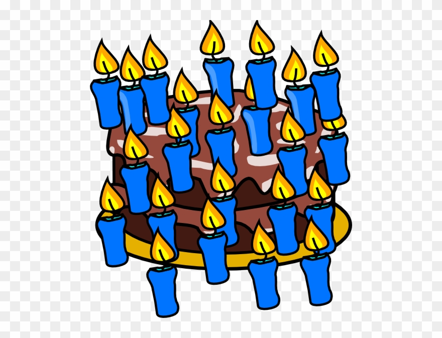 40th Birthday Cake Clip Art.