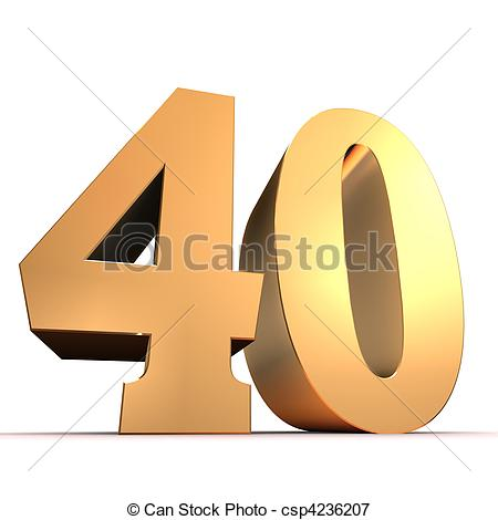 Number 40 Illustrations and Clipart. 1,209 Number 40 royalty free.